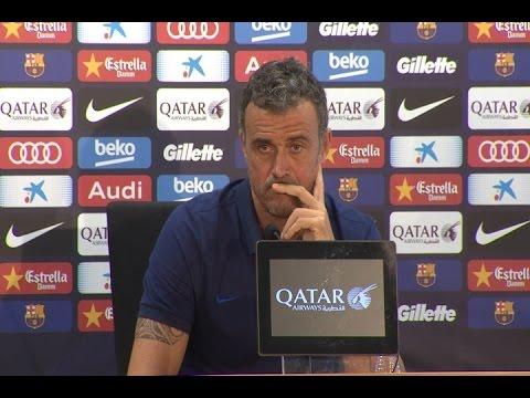 """Luis Enrique: """"No creo que la condena afecte a Messi"""""""