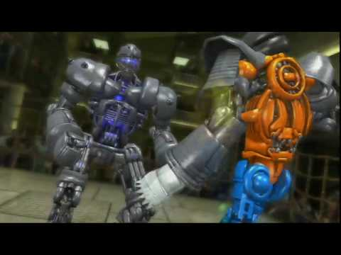 REAL STEEL THE VIDEO GAME-ONLINE(NINJA vs CALLIPSO 2-0 ) ЖИВАЯ СТАЛЬ