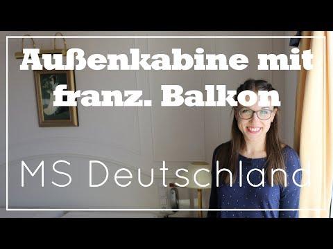 MS Deutschland - Kabine mit franz. Balkon - Phoenix Reisen