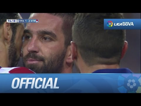 Amazing goal of Arda Turan (1-2) Real Madrid - Atlético
