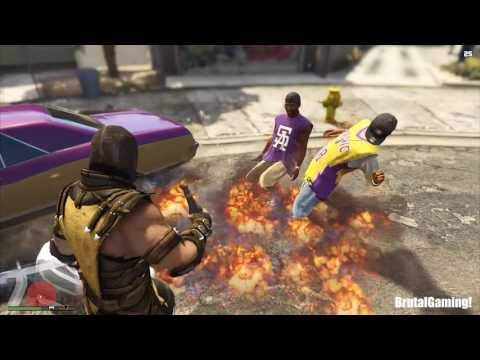 GTA 5 BRUTAL COMPILATION (Grand Theft Auto V Brutality SCORPION/Funny/Thug life)