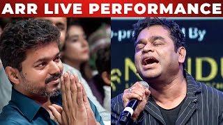 Oru Viral Puratchi Live Perfomance By Ar Rahman Thalapathy Vijay Ar Murugadoss Tt 227