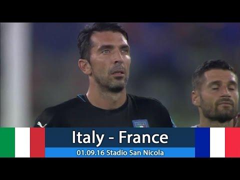 Италия - Франция 1:3 (товарищеский) 01.09.16 Обзор матча