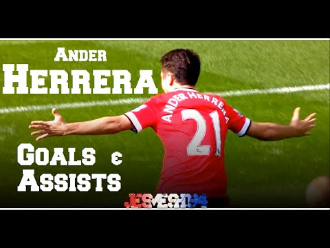 Ander Herrera All Goals and Assists 14/15 Part 1 (HD)