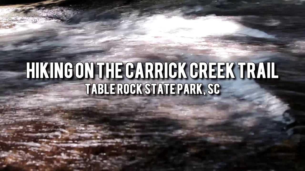Rock Creek Park Hiking Trails Creek Trail Table Rock