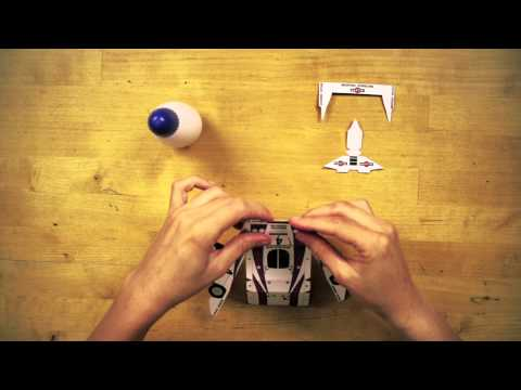 3D Paper Craft - RACING CARS - Make your own paper toys