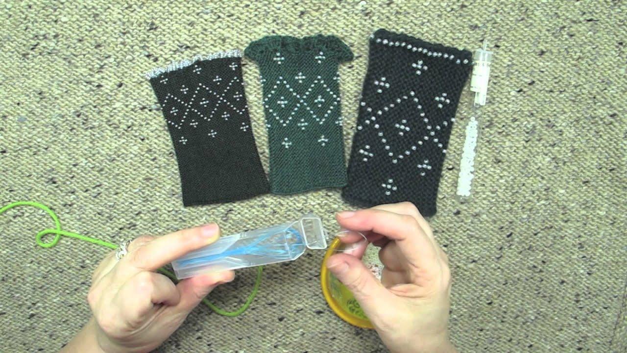 Stringing Beads on Yarn Stringing Beads on Yarn