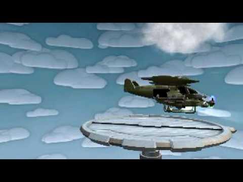 Spore Avatar- Scorpian Gunship