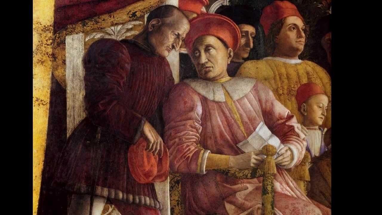 Mantegna camera picta or camera degli sposi 1465 74 for Camera picta mantegna