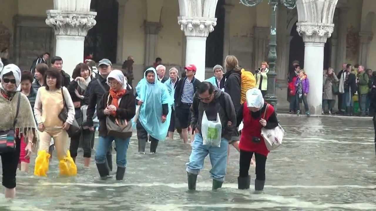 Venezia Alta Stagione Venezia Acqua Alta di