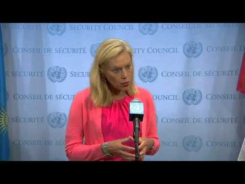 Sigrid Kaag (Joint OPCW-UN Mission) on Syria - Security Council Media Stakeout (4 June 2014)