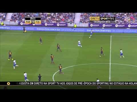 Homenagem Deco FC Porto vs Barcelona HD