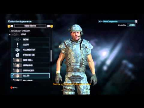 Aliens: Colonial Marines - Multiplayer Customization