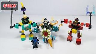 Ráp Lego Ninjago chạy Xe bắn điện đồ chơi trẻ e brick toy for kids