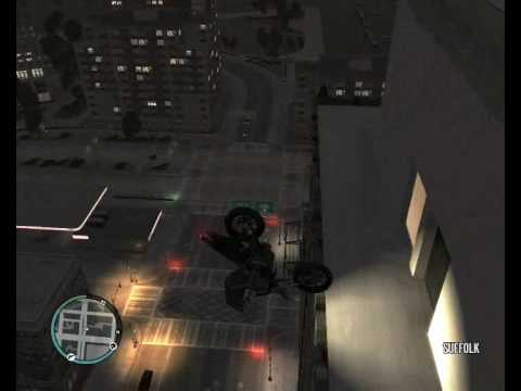 Gta 4 pc-Caidas, golpes y accidentes (parte 2)