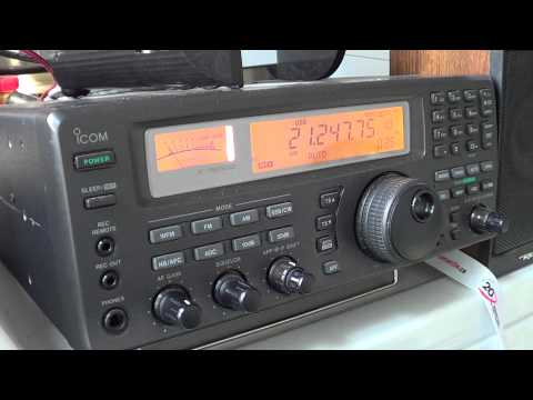 KI7M Oregon calling stations on 15 meters august 30th 2012