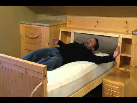 CHARLIE STEVENS HIDDEN BED SECRET PASSAGEWAY