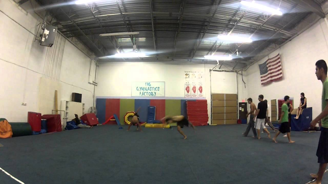 Gymnastics Factory Training Youtube