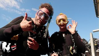 Burnie Vlog: Scuba Diving at the Great Barrier Reef   Rooster Teeth