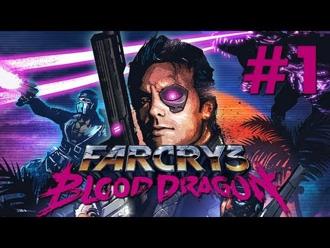 Far Cry 3: Blood Dragon Gameplay - Let's Play Far Cry 3 Blood Dragon German PC-ULTRA