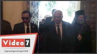 بالفيديو.. محافظ القاهرة يشهد افتتاح دير مارى جرجس بمصر القديمة