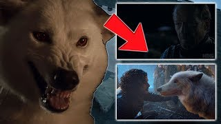 The Importance of The Stark Direwolves ! GHOST & NYMERIA IN SEASON 8 | Game of Thrones