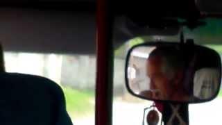 Șoferul scuipă coji de semințe peste geam, ruta 111