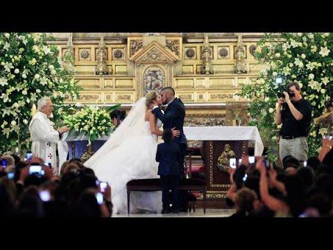 El matrimonio de Arturo Vidal