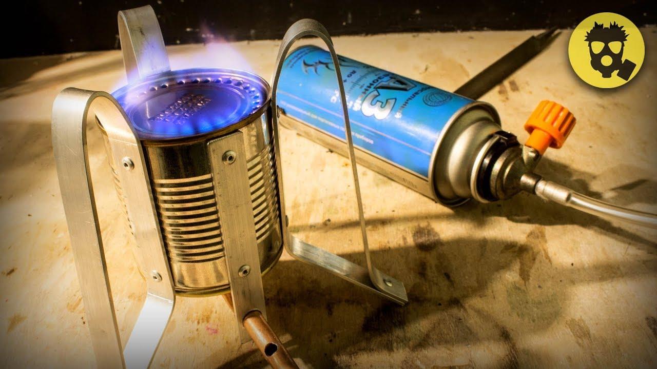 Походная горелка газовая своими руками