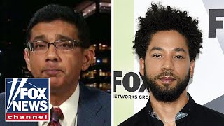 Dinesh D'Souza on the Jussie Smollett case, hate crime hoaxes and the left's 'ideological dementia'