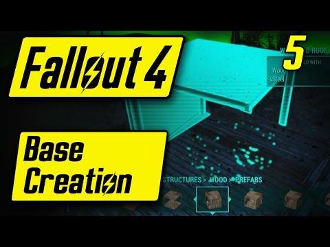 Fallout 4 Base Creation - I BUILT A HOUSE! - Fallout 4 Walkthrough Part 5 - Let's Play [PC]