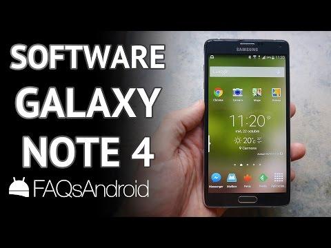 Samsung Galaxy Note 4: análisis del software