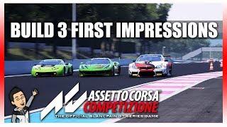 Assetto Corsa Competizione   Build 3 First Impressions!