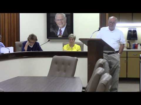 Bowie County Commissioners Court, Monday 13 July 2015