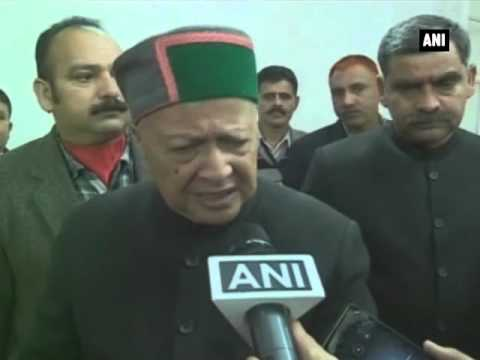 Indo Pak match should not be held at Dharamshala Virbhadra Singh