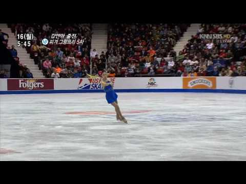 Yuna Kim 3F-3T , 3Lz-3T Combination Jump Collections