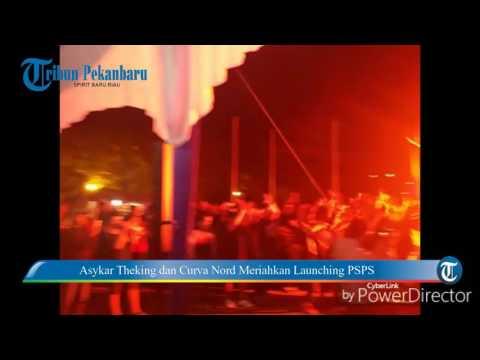 Asykar Theking dan Curva Nord Meriahkan Launching PSPS