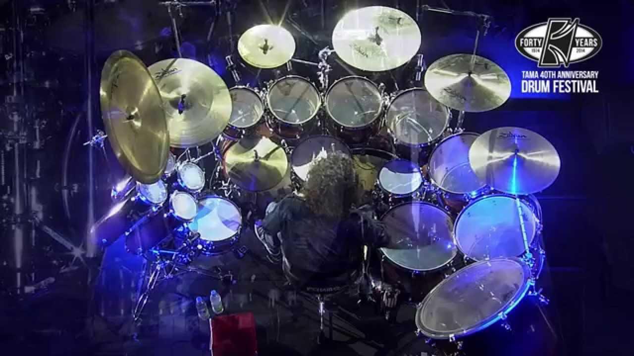 Tama Anniversary Drum Festival Simon Phillips Part Youtube