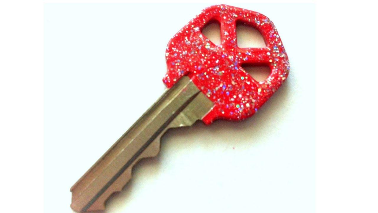 Diy Glitter Nail Polish Keys