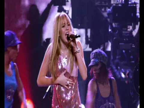 Hannah Montana\Meet Miley Cyrus - I've Got Nerve live Best of Both Worlds Concert HQ HD