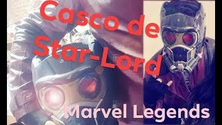 Échale un vistazo a: Marvel Legends Star Lord Helmet