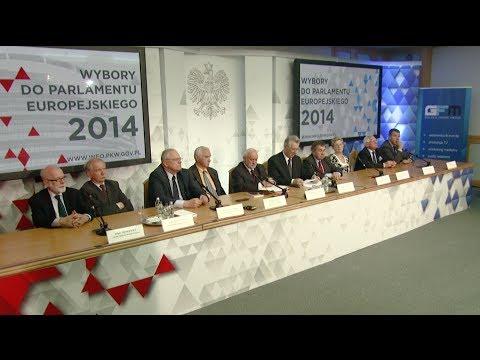 Państwowa Komisja Wyborcza - Ogłoszenie Wyników Wyborów Do Parlamentu Europejskiego