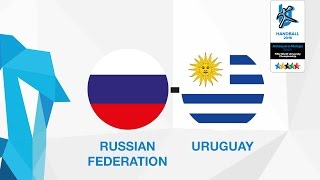 Россия : Уругвай