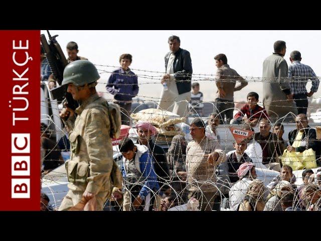 Tezkere öncesi Suriye sınırında son durum - BBC TÜRKÇE