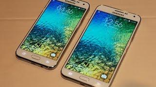 Samsung Galaxy J7 vs  Samsung Galaxy E7 - What's Different