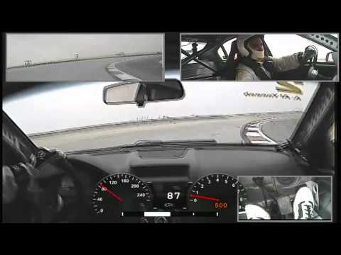 Onboard Abdulaziz Al-Yaeesh Chevrolet V8 Supercars Reem Circuit Saudi Arabia Race 1