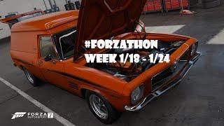 #Forzathon Week 1/18 - 1/24 Random Shenanigans - Forza Motorsport 7