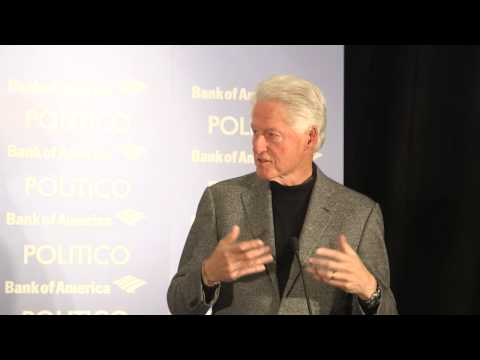 Bill Clinton on 2014 election, immigration & Obama lame duck