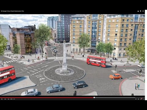 St George's Circus Roads Modernisation Plan