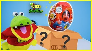 Ryan's World Brand New Toy Unboxing + Ryan's Mommy shopping at Target